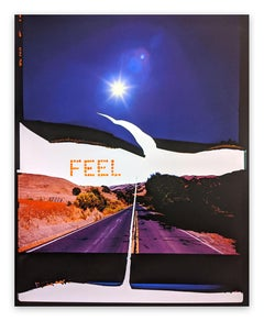 Feel, Canyon Road (Abstract photography)