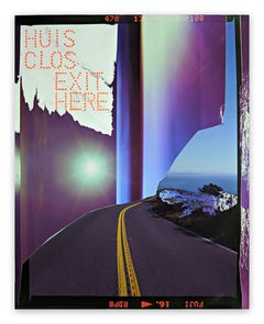 Huis Clos Exit Here (Abstract photography)