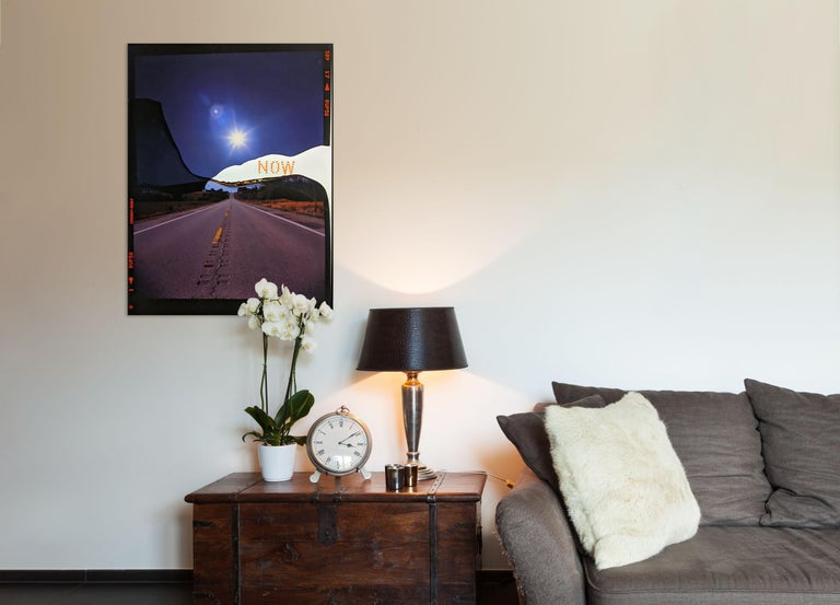 Now Canyon Road (Abstract photography)  - Photograph by Jason Engelund