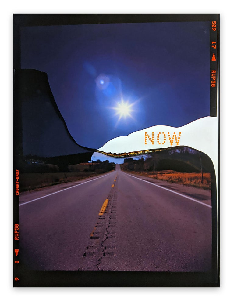 Jason Engelund Abstract Photograph - Now Canyon Road (Abstract photography)
