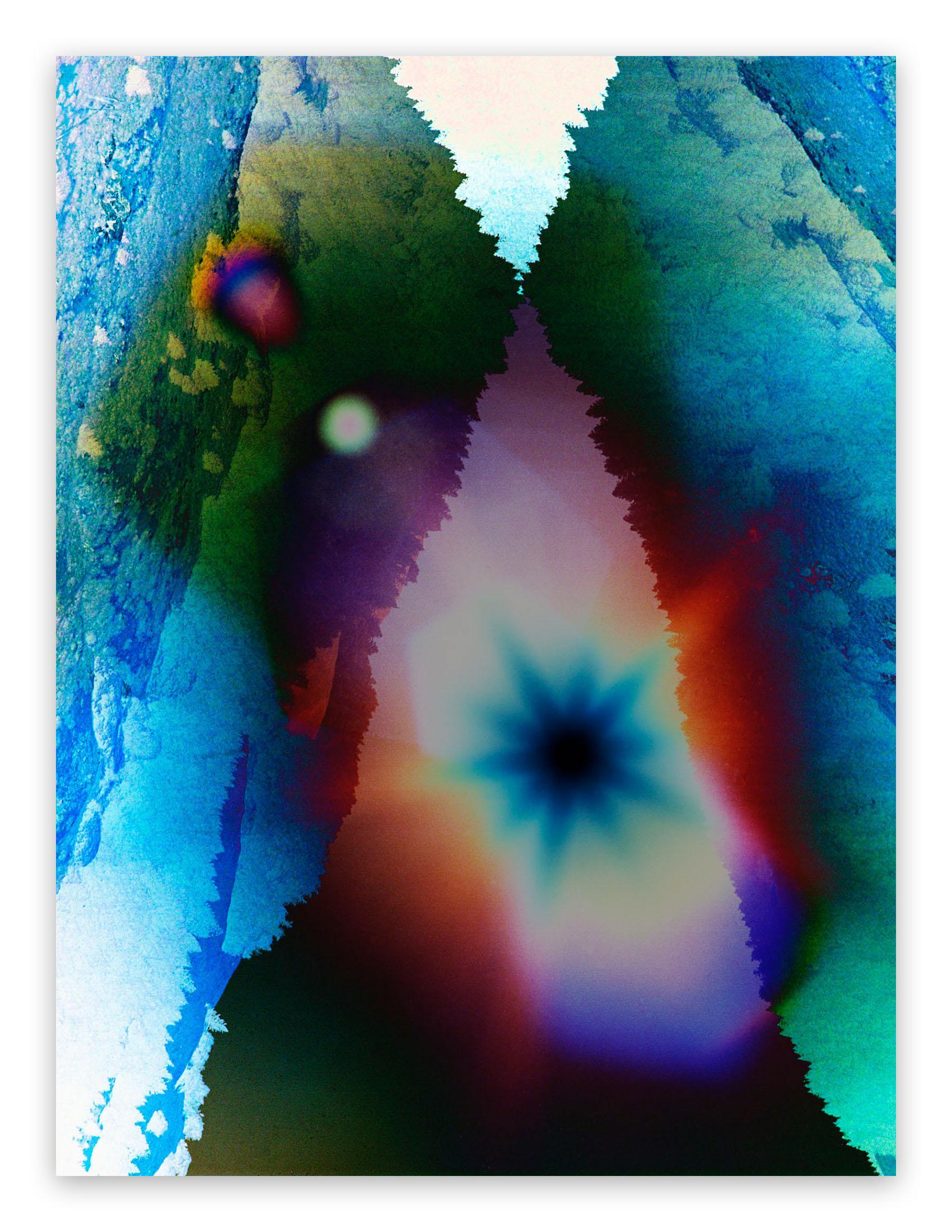 Sun Mountain Wild Vision (Abstract photography)