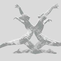 Echo in Grey, Jason Keeley, Figurative Art, Limited Edition Print, Grey Art