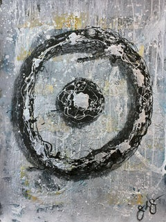 glyph 8., Mixed Media on Paper