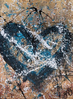 essen's heart 32., Mixed Media on Paper