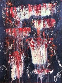 gobekli tepe 10., Painting, Oil on Paper