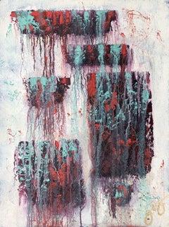 gobekli tepe 8., Painting, Oil on Paper