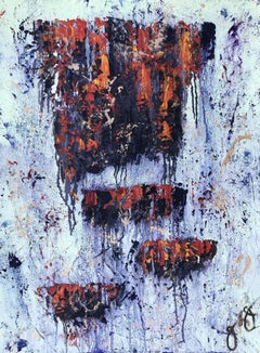 gobekli tepe 9., Painting, Oil on Paper
