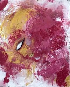 vesta 1., Painting, Oil on Paper