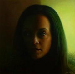 """Rosi"" Oil Painting"