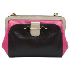 Jason Wu Black & Pink Crossbody Bag