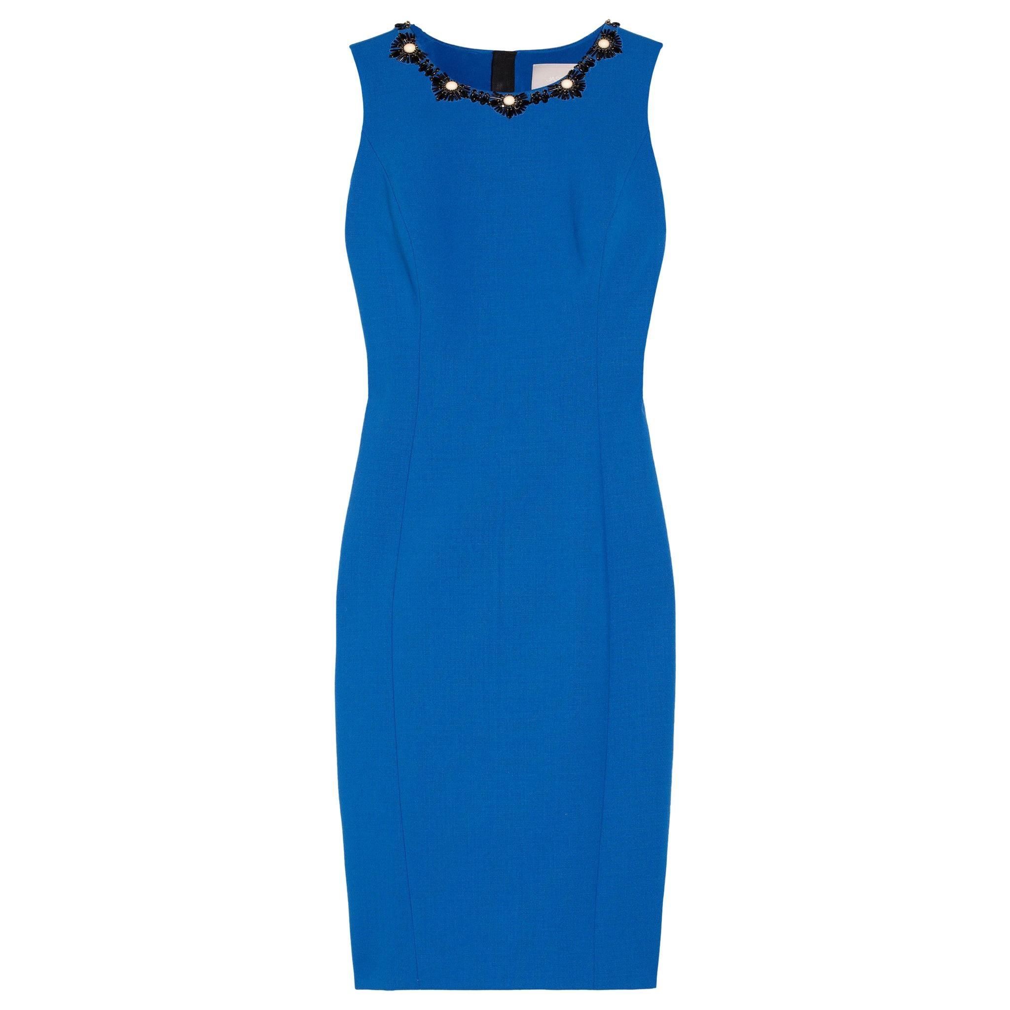 Jason Wu Collection Embellished Double-Face Wool-Blend Dress