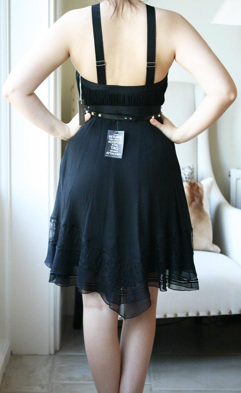 Women's Jason Wu Collection Plissé Silk-Chiffon Dress For Sale