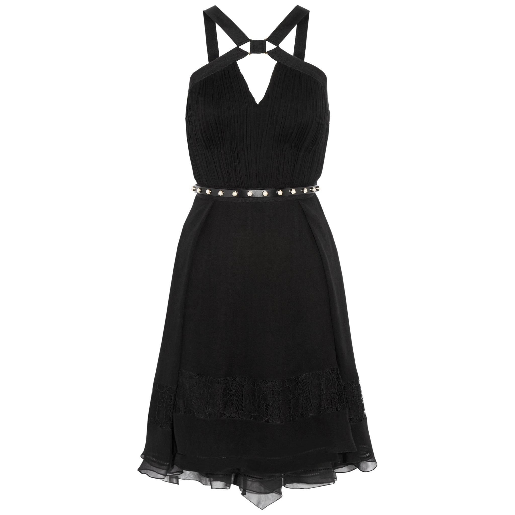 Jason Wu Collection Plissé Silk-Chiffon Dress