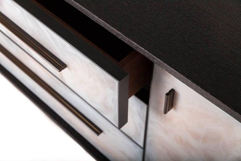 Blackened Jasper Cabinet For Sale