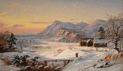 Winter Scene, North Conway, New Hampshire