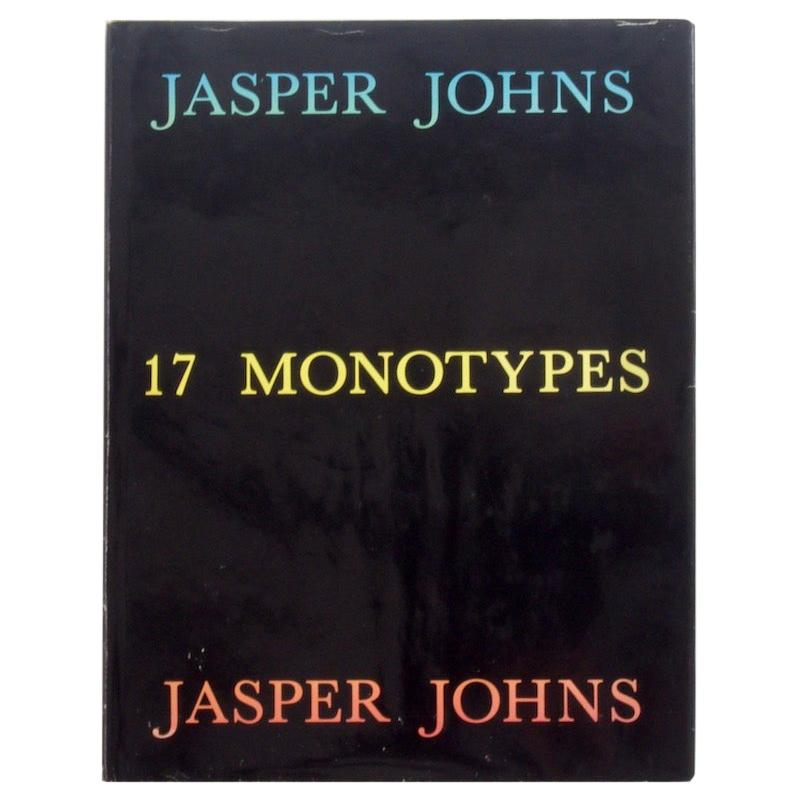 Jasper Johns, 17 Monotypes, First Edition