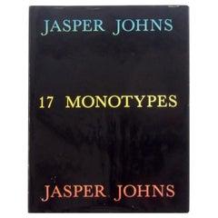 Jasper Johns, 17 Monotypes, First Edition