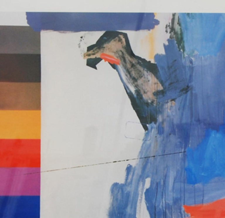Jasper Johns 1987 Ludwig Museum Poster In Good Condition For Sale In Pasadena, TX