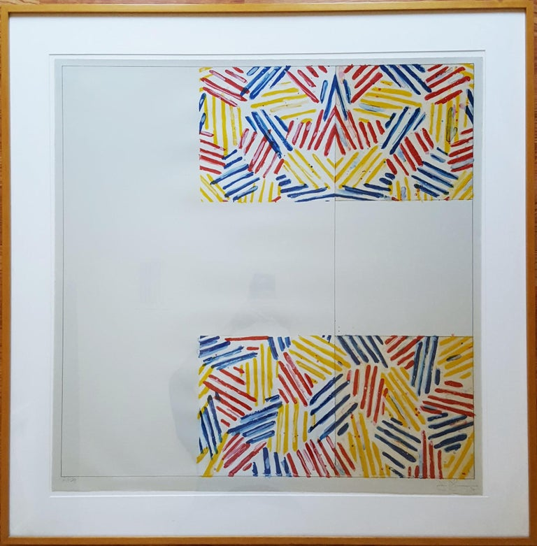 #2 (after 'Untitled 1975') - Print by Jasper Johns