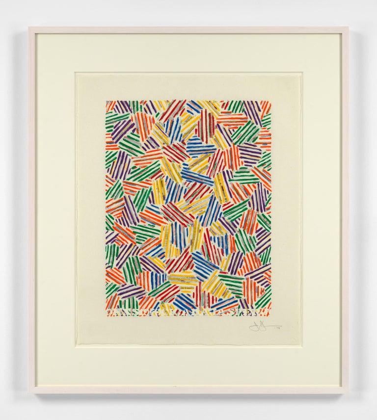 Cicada - Print by Jasper Johns