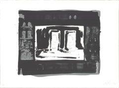"Jasper Johns-Ale Cans-23"" x 30.75""-Lithograph-1975-Pop Art"
