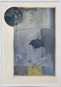 Jasper Johns, Evian Black State, signed , 1972