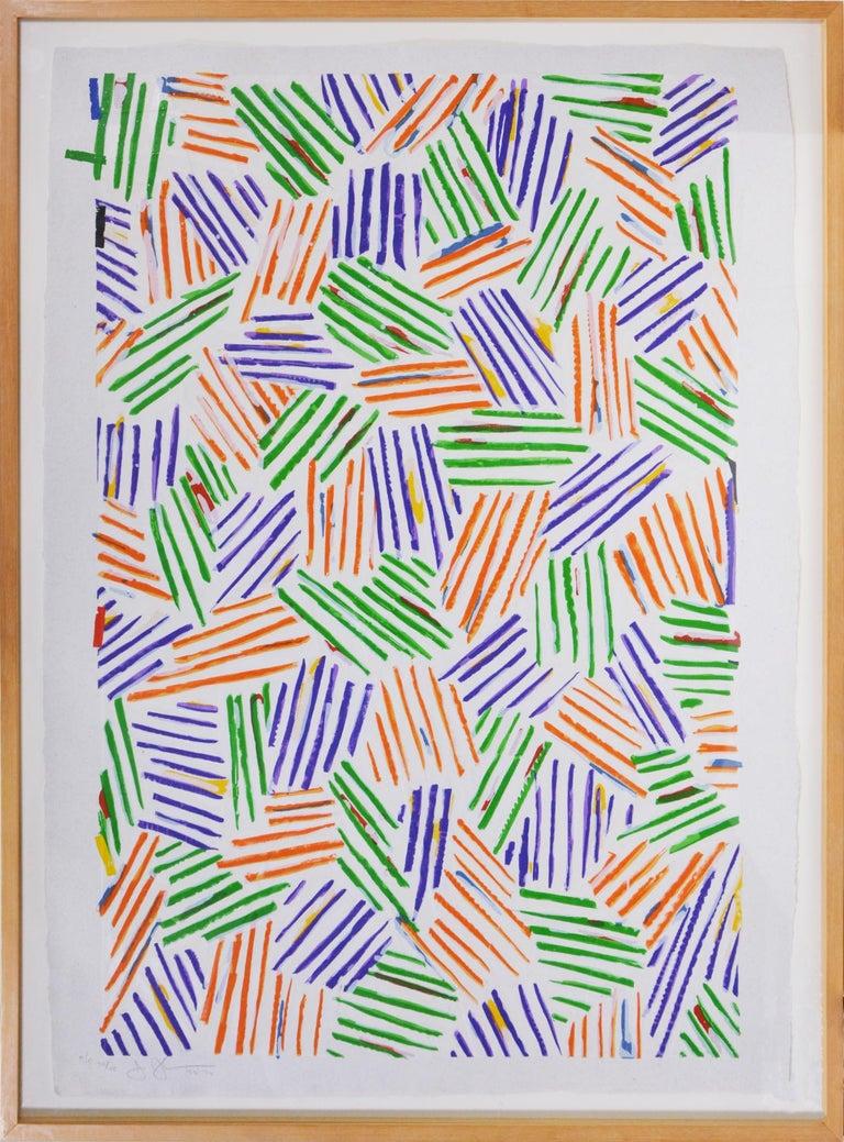 Jasper Johns, Four Panels from Untitled 1972 - Print by Jasper Johns