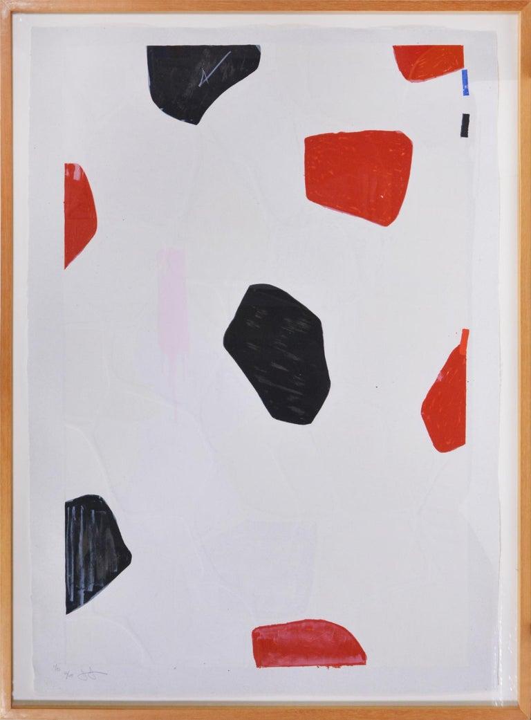 Jasper Johns, Four Panels from Untitled 1972 - Pop Art Print by Jasper Johns
