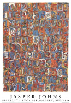 """Exhibition Poster Numbers in Color-39.5"""" x 27.5""""-Poster-1976-Pop Art-Multicolor"""