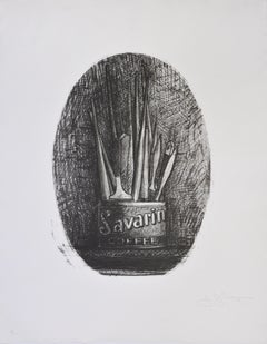 Jasper Johns, Savarin 4, Oval, 1978