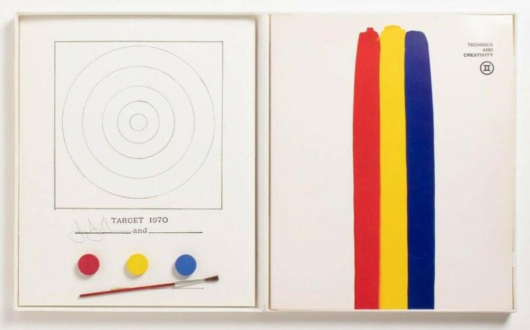 Jasper Johns Target Technics and Creativity (Jasper Johns MoMa 1971) For Sale 8