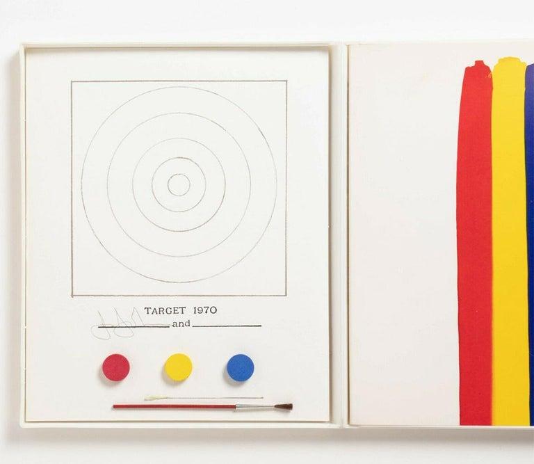 Jasper Johns Target Technics and Creativity (Jasper Johns MoMa 1971) - Print by Jasper Johns
