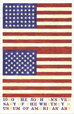 Jasper Johns-The 50th Anniversary of the Whitney Museum of American Art (Double