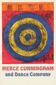 """Merce Cunningham and Dance Company (Target with Four Faces)"""