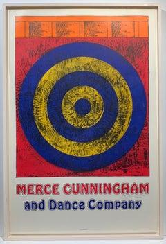Merce Cunningham Dance Company signed poster
