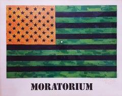 (Moratorium) Flag Poster