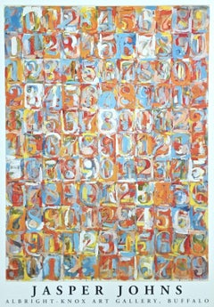Numbers in Color, 1981 Event Lithograph,  After Jasper Johns - LARGE