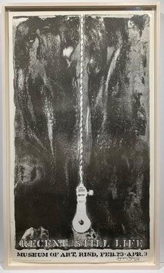 Recent Still Life RISD exhibition poster
