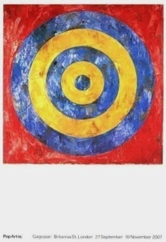 Target, 2007 Gagosian Exhibition Lithograph, Jasper Johns
