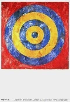 Target, 2007 Gagosian Exhibition Offset Lithograph