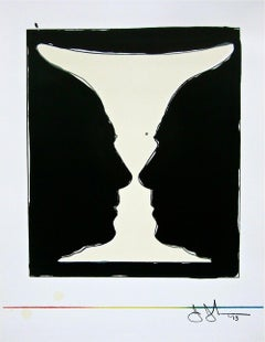 Two Cup Picasso, Limited Edition Lithograph & Silkscreen, Jasper Johns