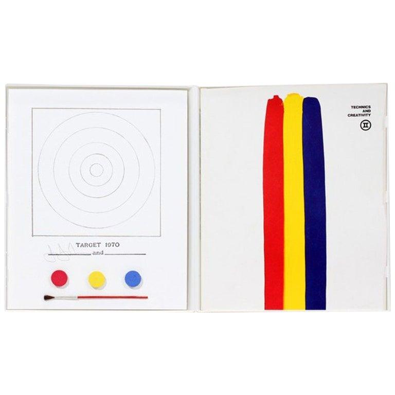 Jasper Johns & Technics and Creativity ii Catalogue, Gemini G.E.L. & MoMa, 1971 For Sale