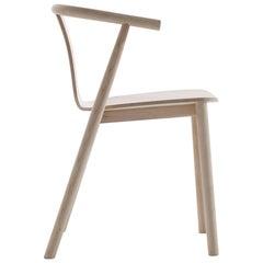 Jasper Morrison Bac Chair in Bleached Ashwood for Cappellini