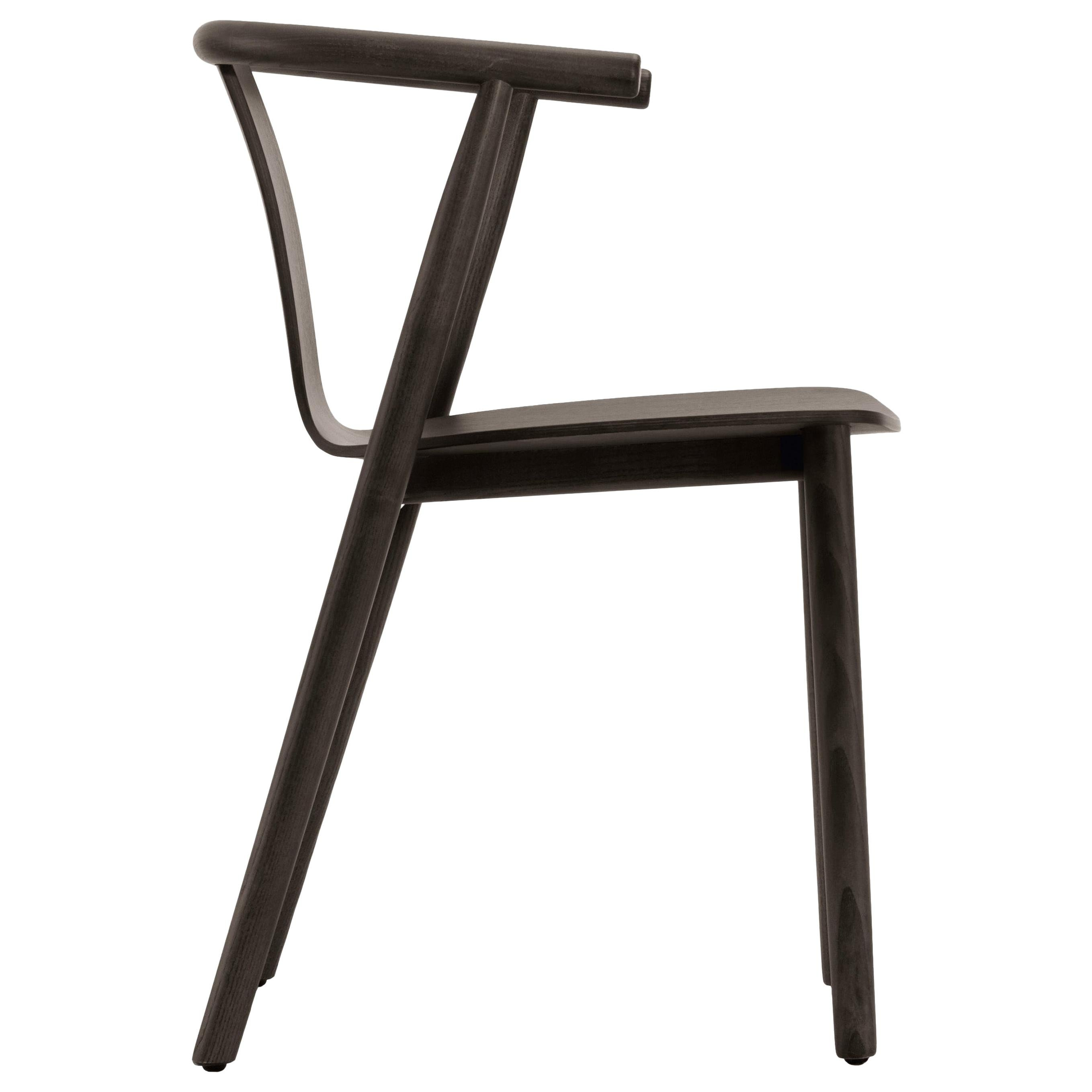 Jasper Morrison Bac Stool in Wenge Stained Ash for Cappellini