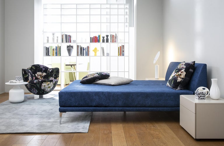 Modern Jasper Morrison Bed in Fir and Poplar Plywood and Metal Frame for Cappellini For Sale