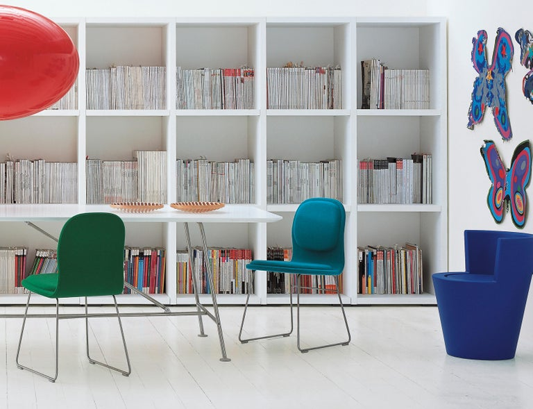 Contemporary Jasper Morrison Hi Pad Chair in Beech Plywood & Fabric or Leather for Cappellini For Sale
