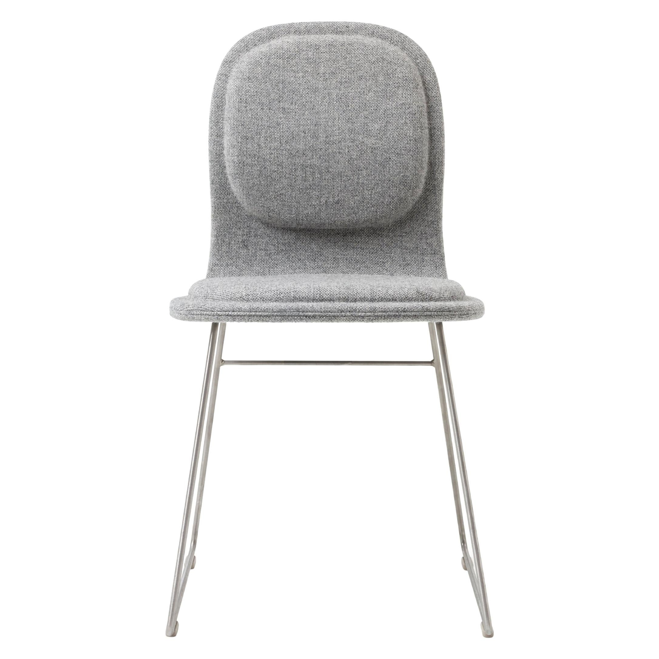 Jasper Morrison Hi Pad Chair in Beech Plywood & Fabric or Leather for Cappellini