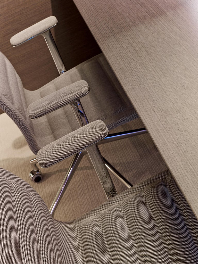 Jasper Morrison Lotus High Chair in Polished Chrome and Beech for Cappellini For Sale 4