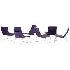 Jasper Morrison Low Pad Lounge Chairs