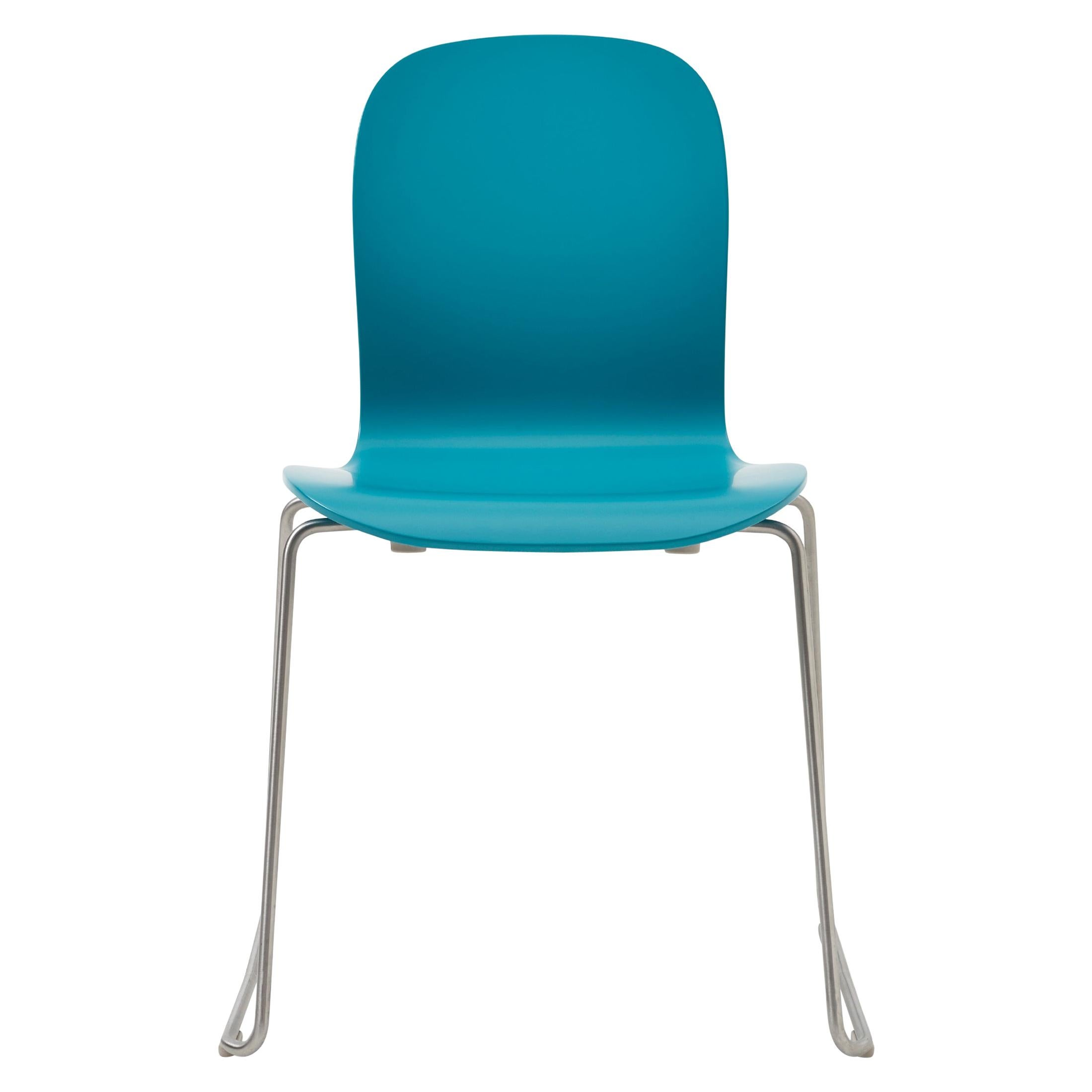 Jasper Morrison Tate Chair in Beech Plywood with Matte Lacquer for Cappellini